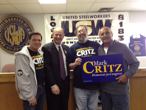 Rallying Labor in Beaver County | by CritzForCongress