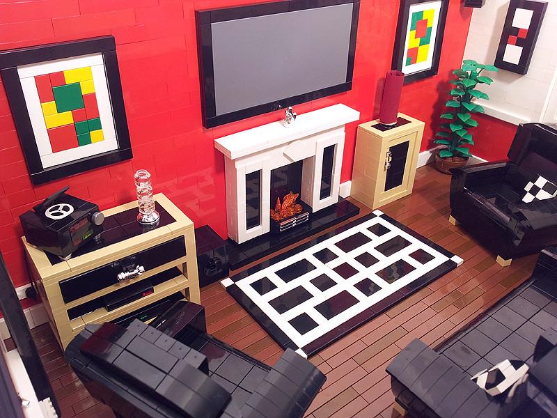 Lego House Lounge Room