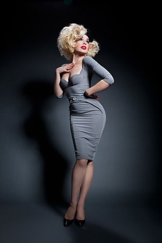 Laurie Hagen Wearing The Agent Provocateur Thora Dress