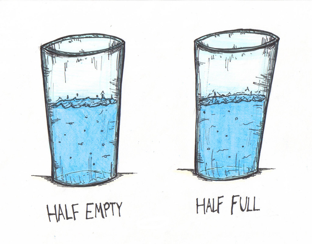 Cup Half Full Quotes: Half Empty Half Full