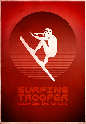 stormtrooper surfing | by The Surfing Trooper