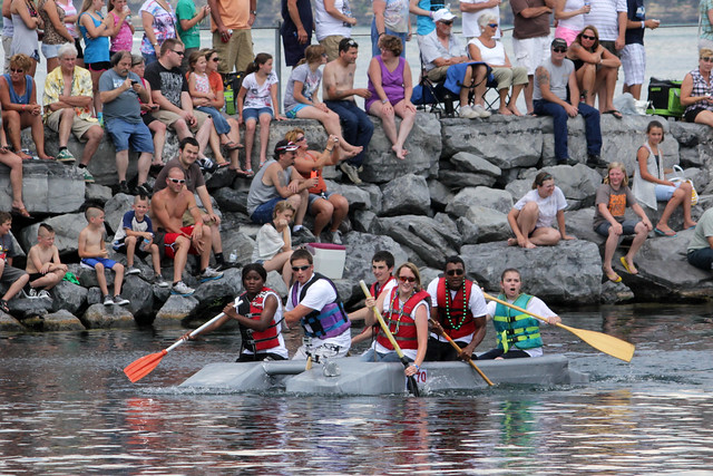 Watkins Glen Cardboard Boat Regatta | Flickr - Photo Sharing!