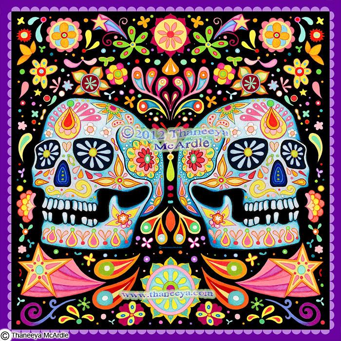 Sugar Skulls Art