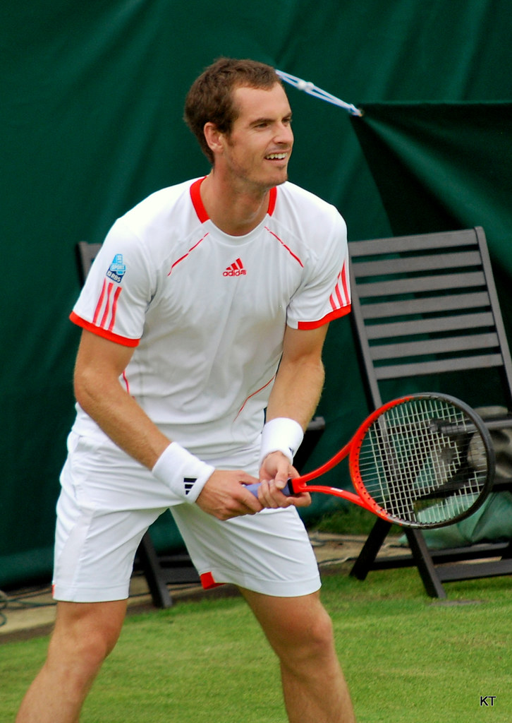 Andy Murray The Boodles Stoke Park June 2012