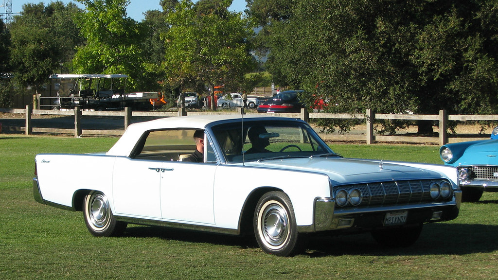 1964 lincoln continental convertible 39 mrs kndy 39 1 photogra flickr. Black Bedroom Furniture Sets. Home Design Ideas