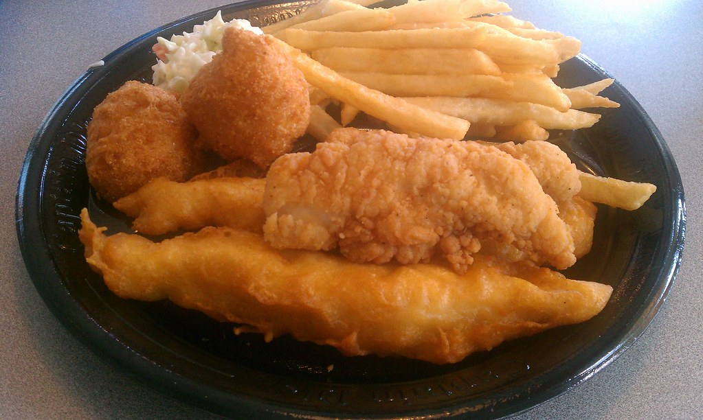 Chicken fish and chips captain d 39 s my favorite item for Fishers chicken and fish