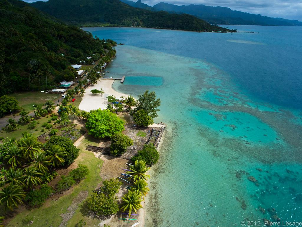 Taputapuatea Marae in Raiatea | Check it on Google Earth ...