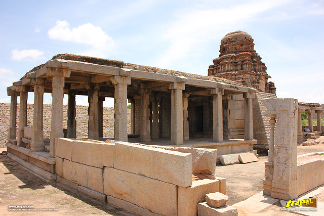 Ranga or Madhava temple complex, Hampi, Ballari district, Karnataka, India