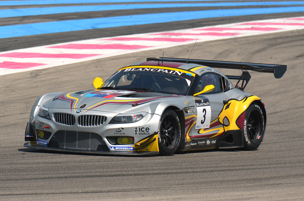 Bmw Z4 Blancpain Endurance Series Circuit Paul Ricard