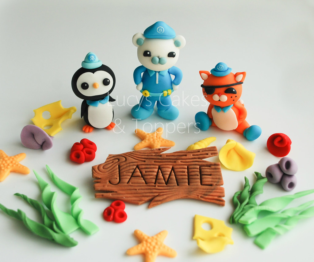 Cake Toppers Edible Uk : Octonauts edible cake toppers visit me and LIKE my ...
