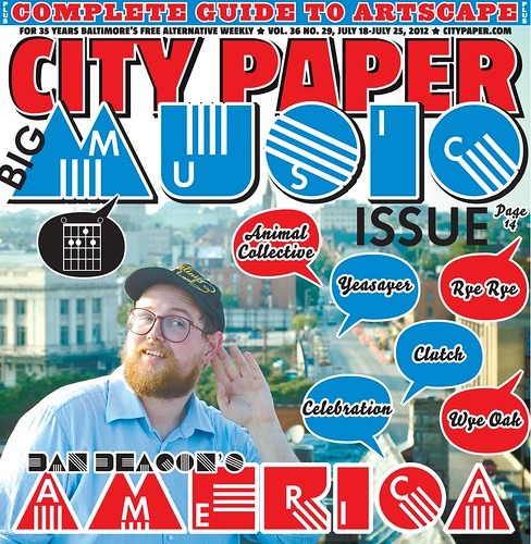Dan Deacon City Paper cover | by joshsisk