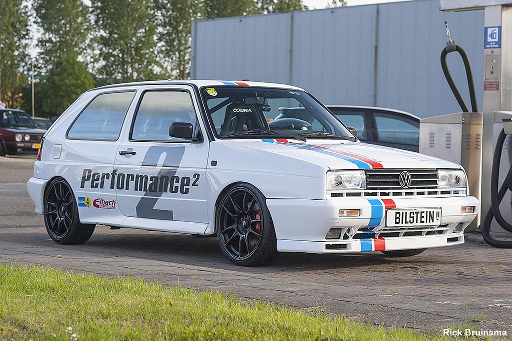 Volkswagen Rallye Golf Mkii R32 Engine Rick Bruinsma
