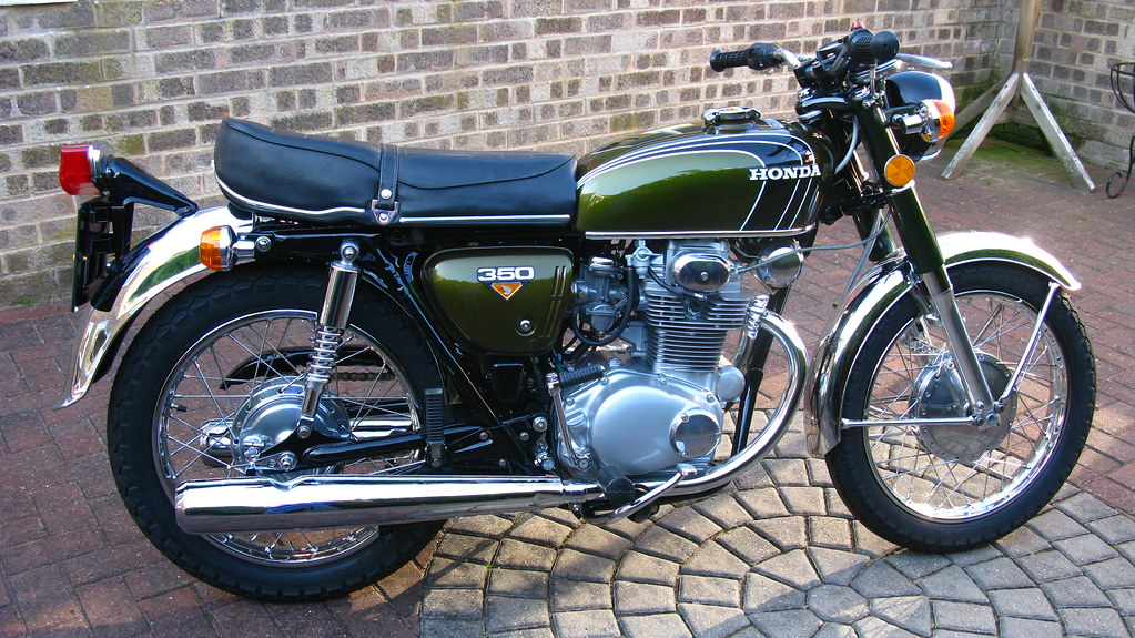Honda Cb350 K4 1972 My Honda Cb350 K4 This Bike Was