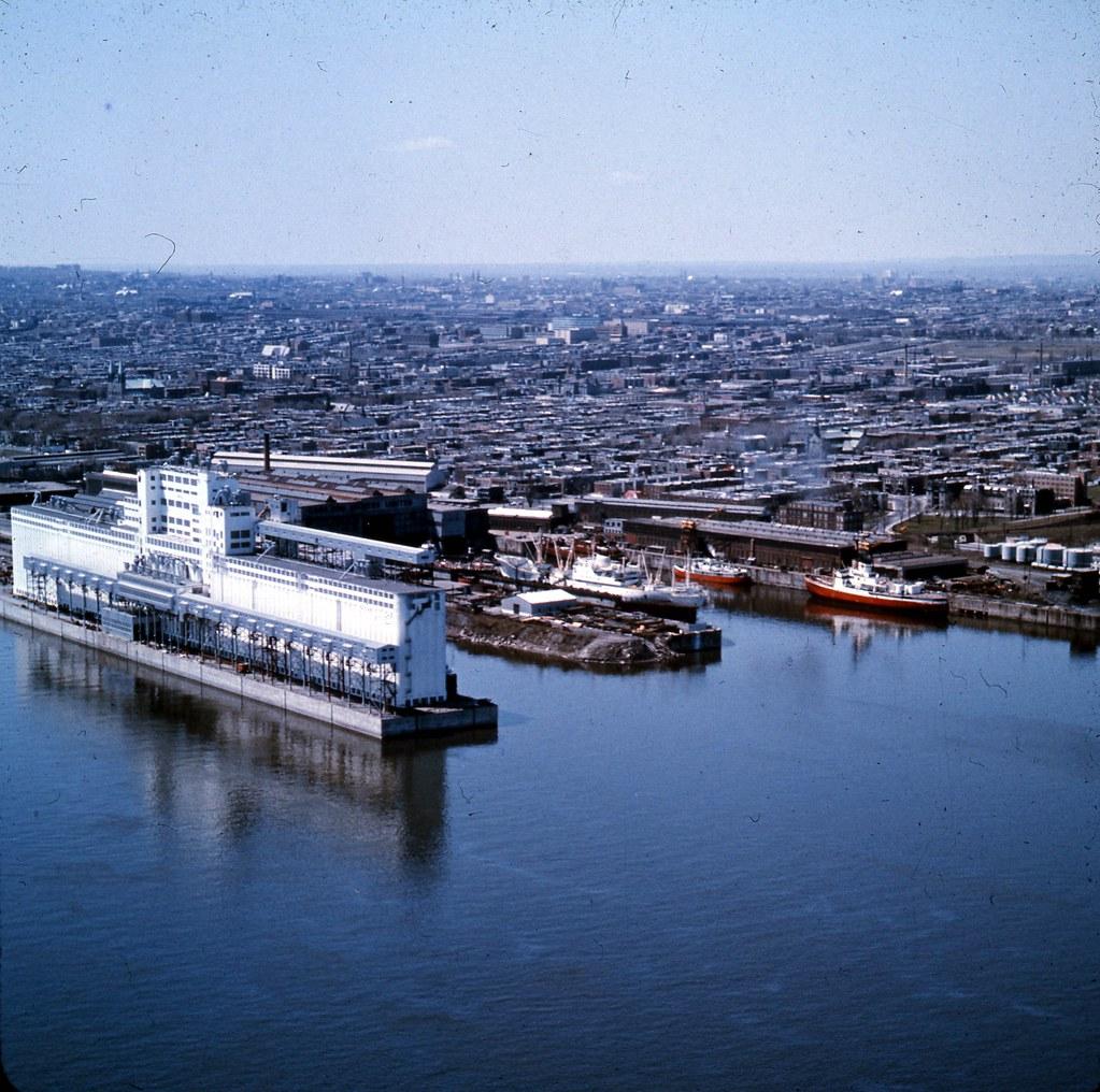 Le port de montr al dans hochelaga maisonneuve 1965 vm94 for Piscine hochelaga