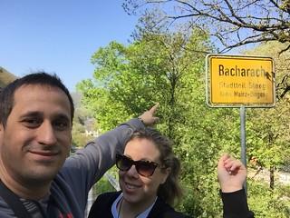 Sele y Rebeca en Bacharach (Alemania)