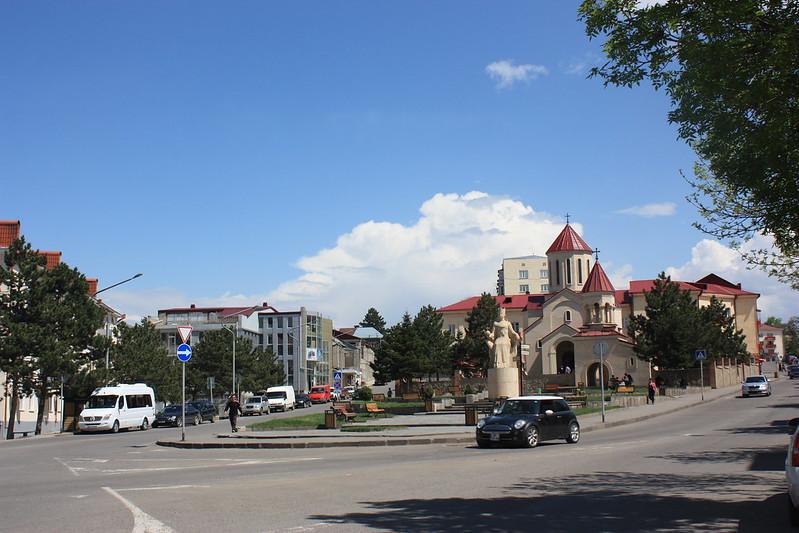 Улицы Ахалцихе