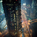shanghai-pudong-century-avenue-jinmao-tower-night