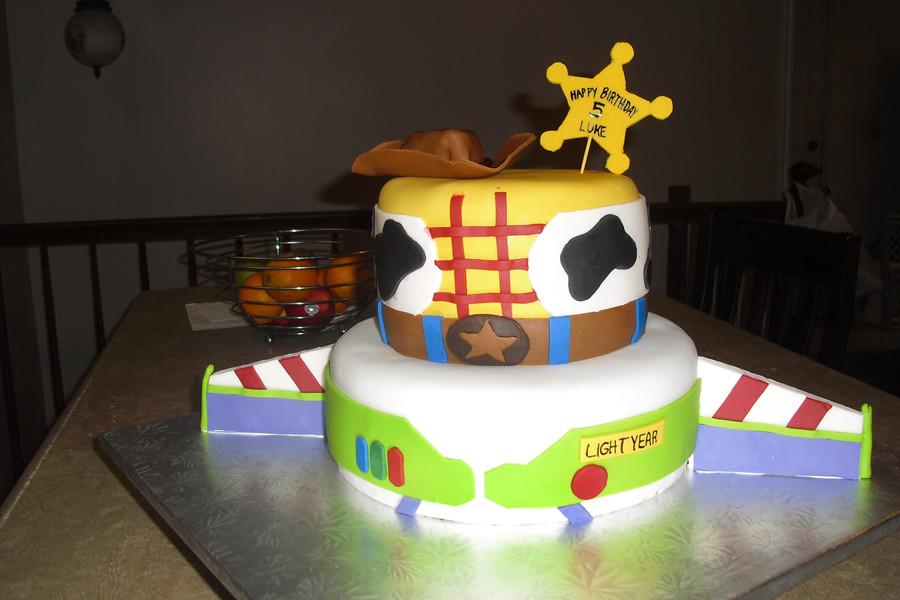 Toy Story Buzz Amp Woody Cake Sugarslc Blogspot Com 2011