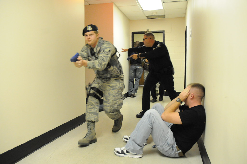 Active Shooter Exercise Charlotte N C Airmen Of The