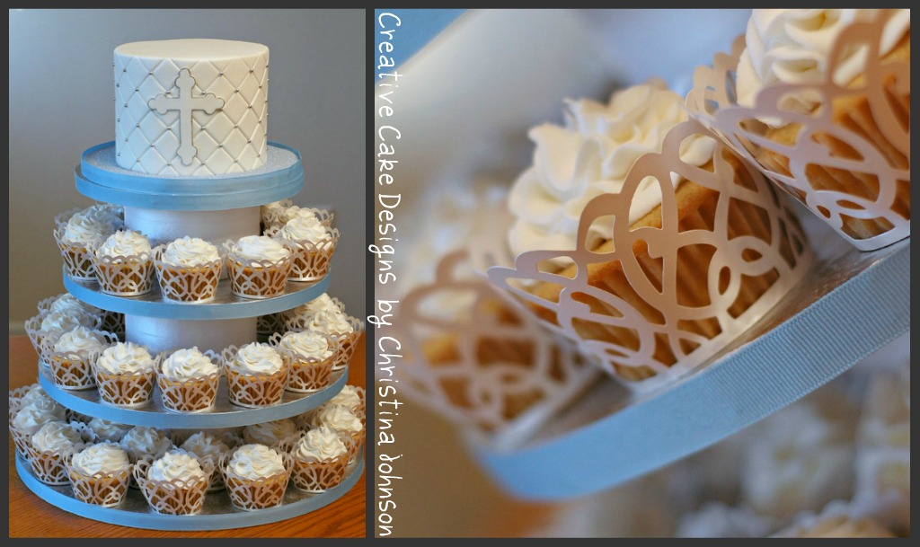 Vegan Baptism Tower This was a VEGAN request. My ...