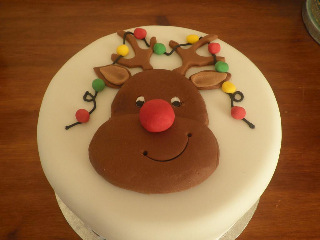 Cake Decorations New Lynn : rudolf christmas cake Rudolf christmas cake ...