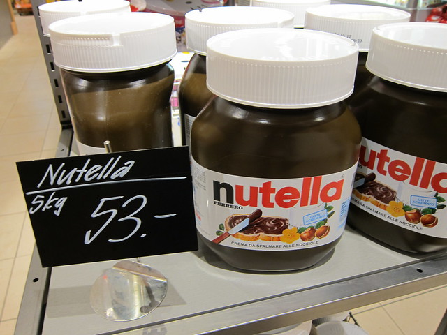 5 kg of Nutella for 53 CHF | Flickr - Photo Sharing!