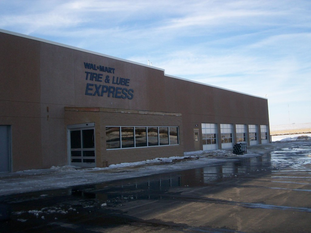 wal mart carroll iowa tire lube express prior   flickr