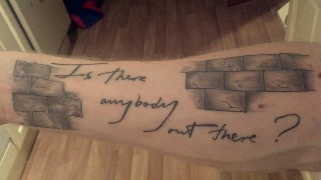Pink Floyd Tattoo Duhh: By Jim At Midnight Dragon, Saltcoats