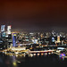 4-Stitch Panoramic View of Marina Bay