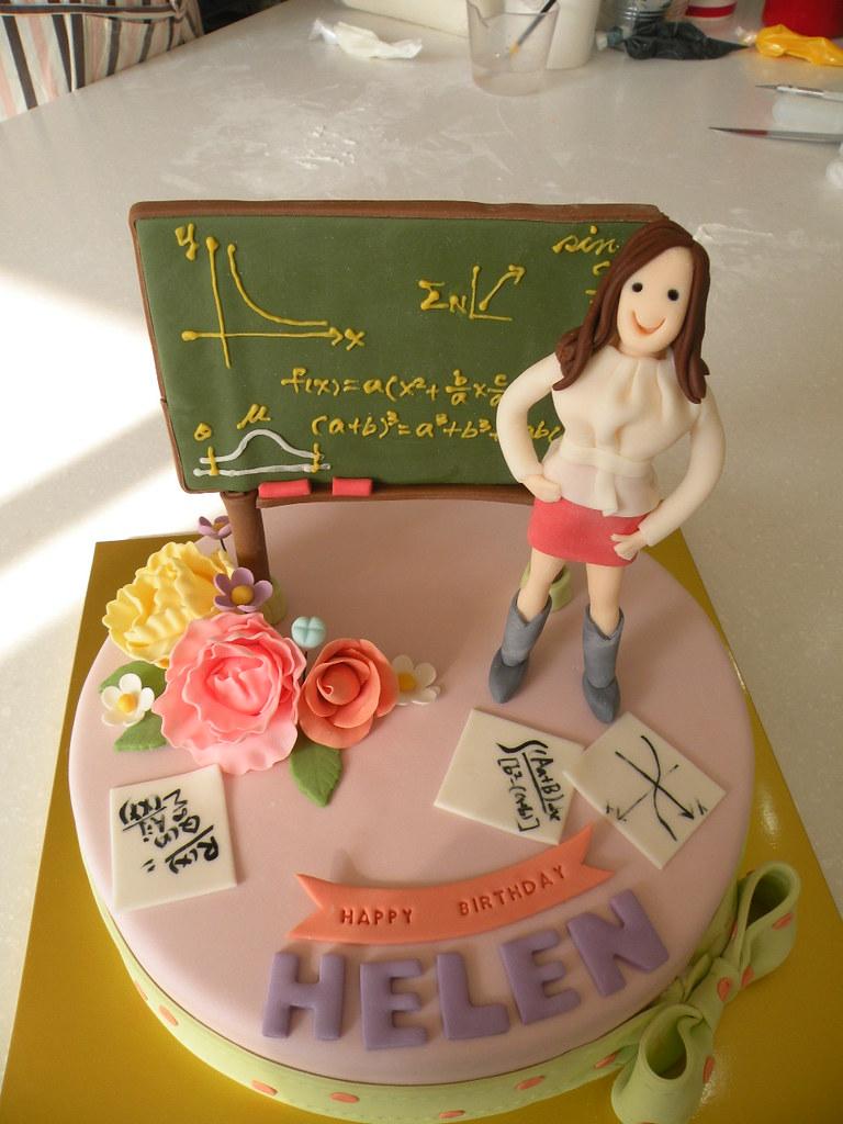 BCG math teacher cake Kim Hyeyoung Flickr