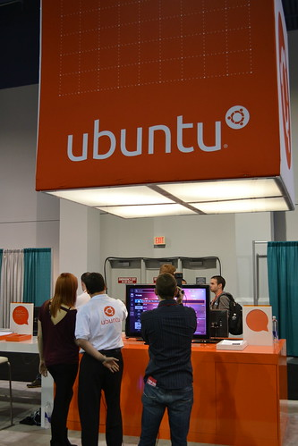 ubuntu booth | by International CES
