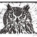 SOLD! Eagle Owl, #Draw365.173