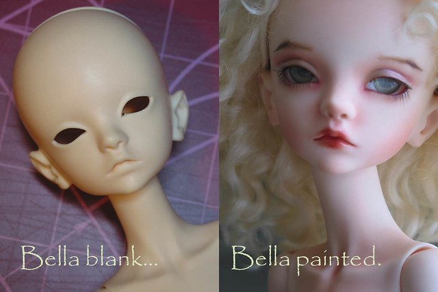 """Doll Chateau Bella """"Before and After"""" 