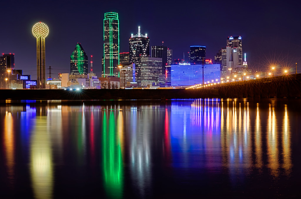 Dallas Cityscape Nikon D7000 Nikkor 24 70mm 2 8g F11 Is Flickr