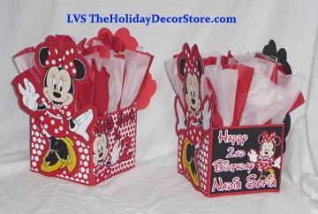 Ballon Centerpiece Minnie Mouse Birthday Party Supplies De