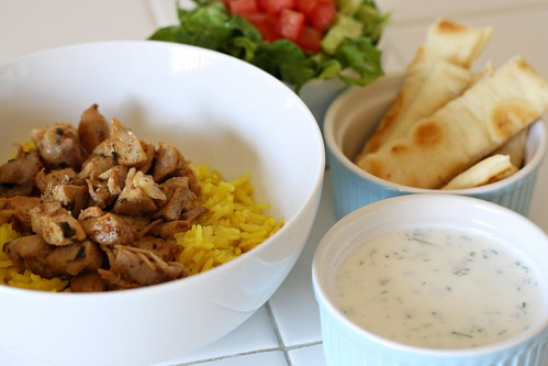 Halal Cart-Style Chicken and Rice | dishingupdelights.blogsp ...