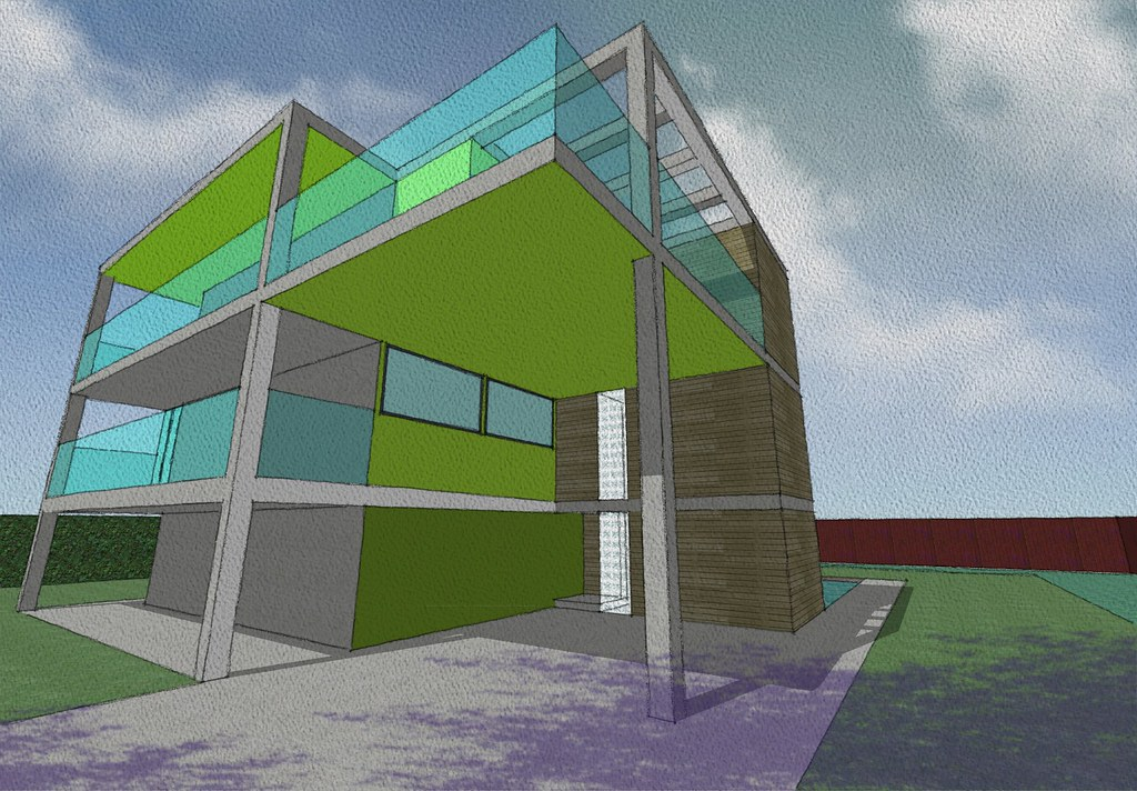 My sketchup model of my dream house to show i 39 m not a - Design my dream home online free ...