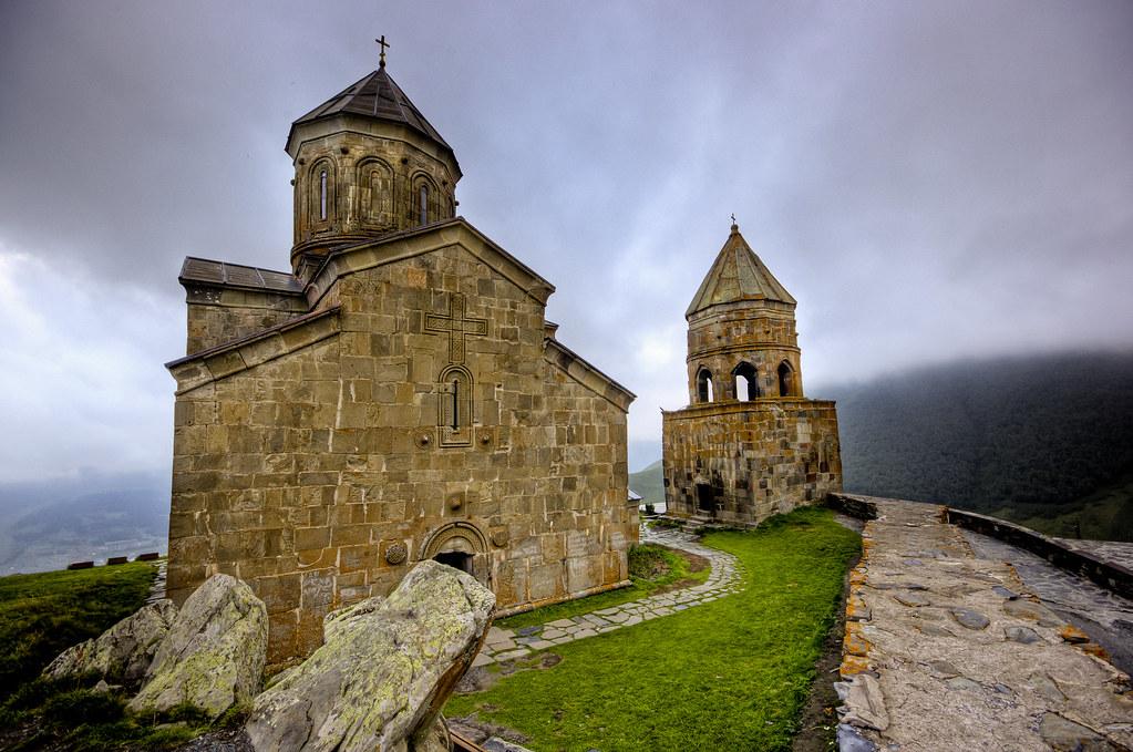 Gergeti Trinity Church - Tsminda Sameba (Georgia) | A ...