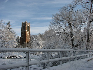 Shining Beaumont Tower | by MSU Libraries