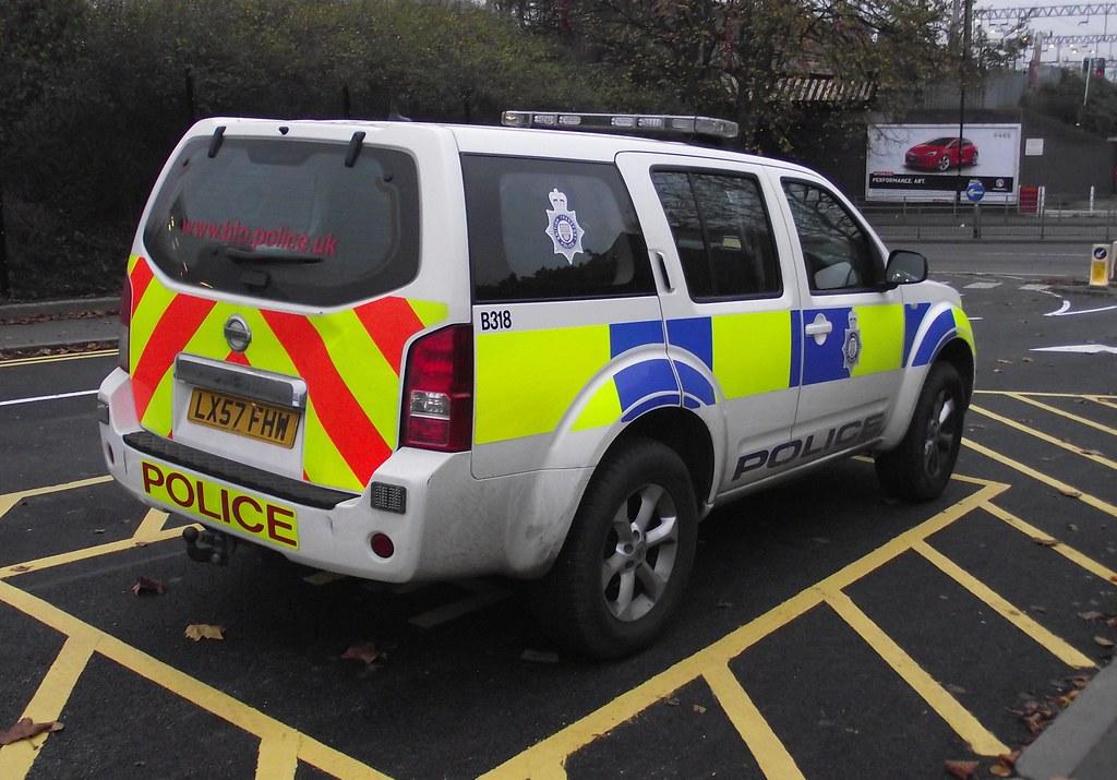 British Transport Police Nissan Navara Response Vehicl