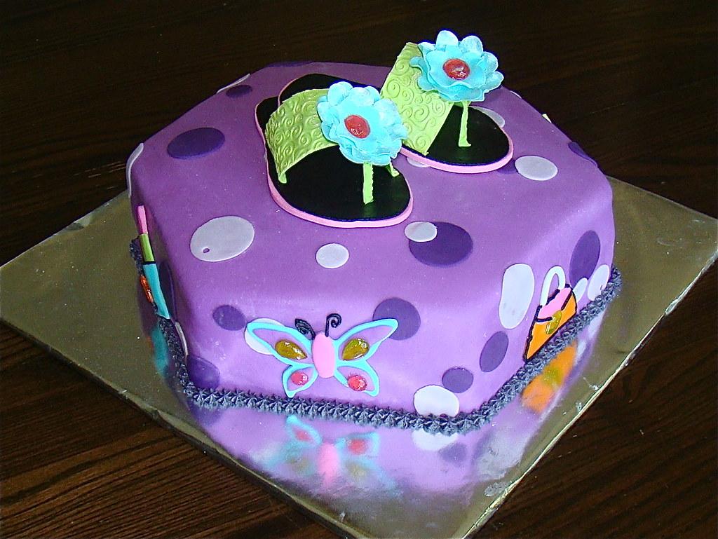Flip Flop Cakes Pictures