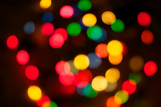 christmas light bokeh | Flickr - Photo Sharing!