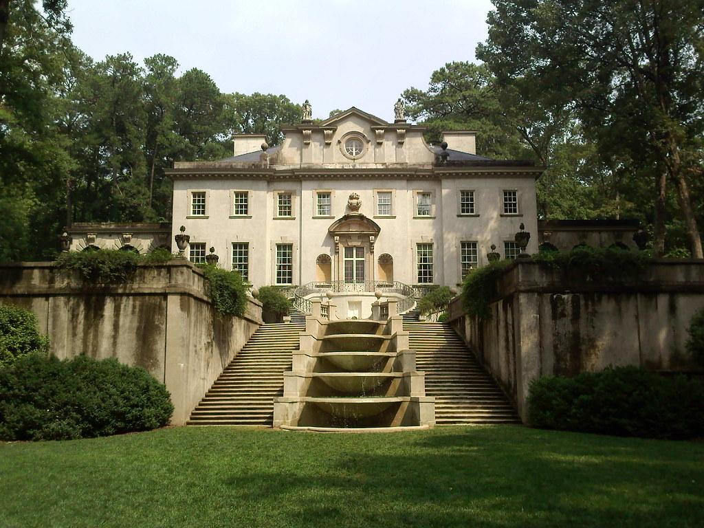 Atlanta History Center Swan House The Swan House