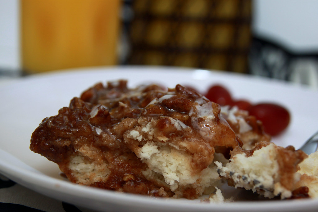 pecan biscuit bake 2 | Rachel | Flickr