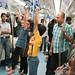 Children enjoying the ride - Namma Metro