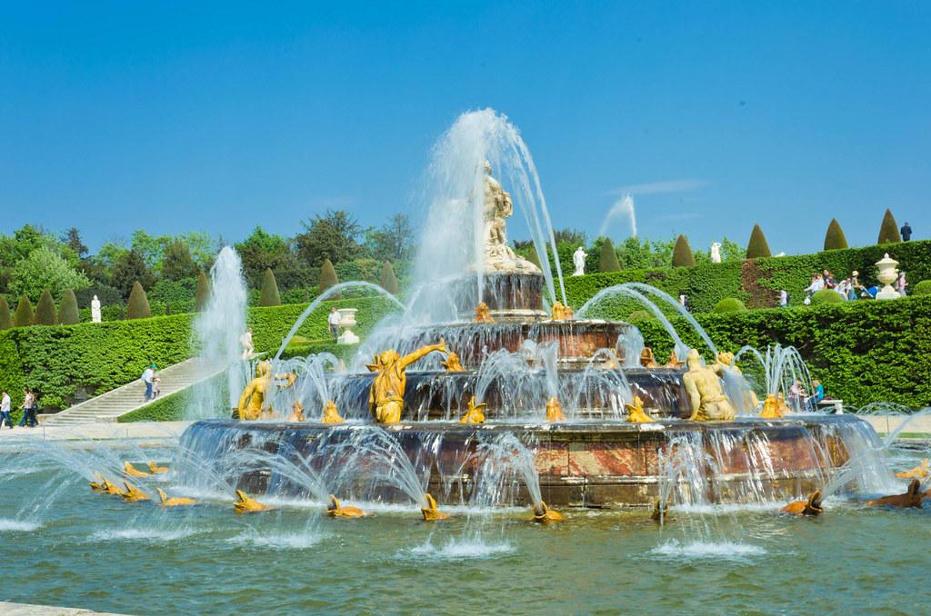 Latona Fountain Latona Fountain Inspired By Ovid S