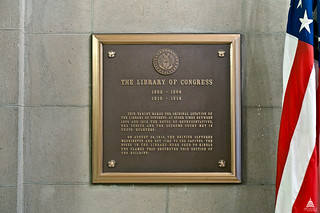 First Library of Congress Plaque | by USCapitol
