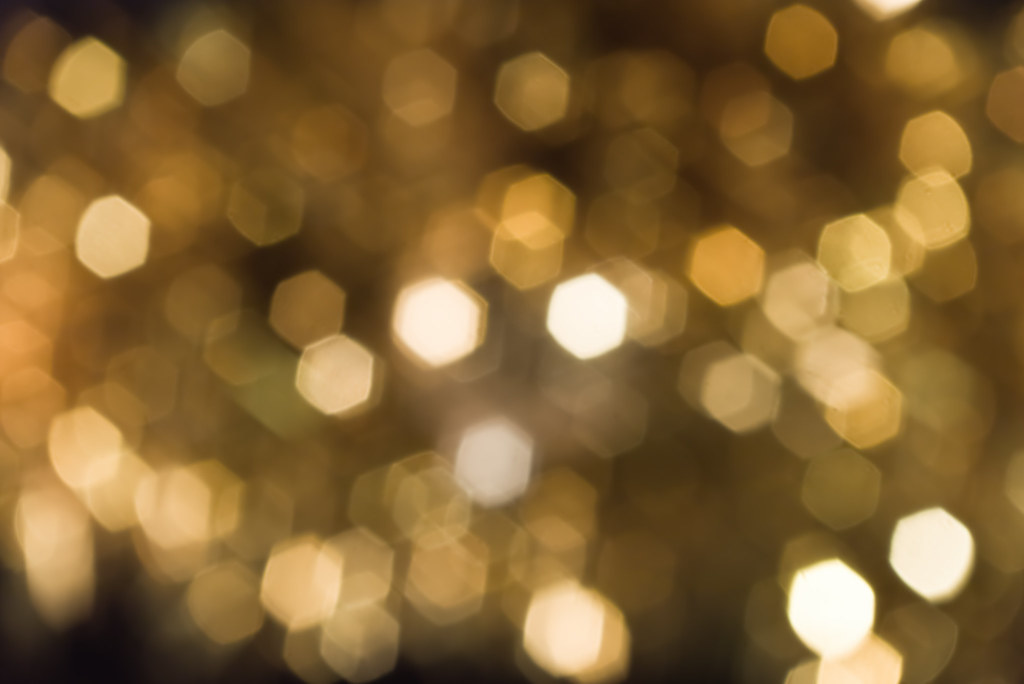 Gold Lights Backgrounds Blurred gold l.
