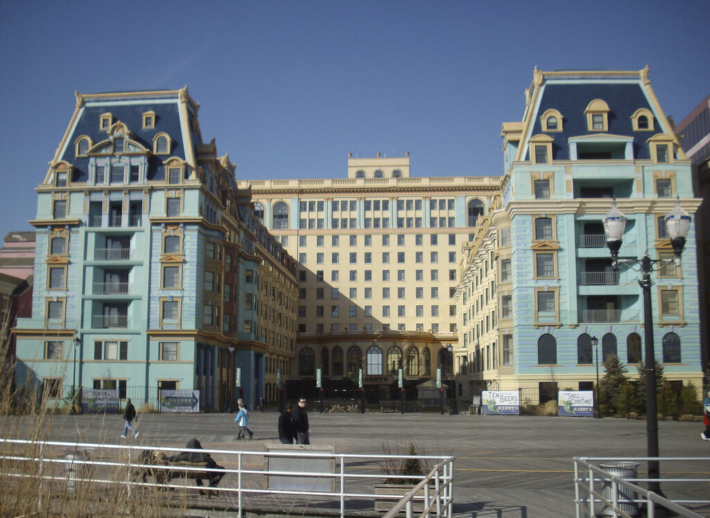 Historic Dennis Hotel Atlantic City In Its Heyday The
