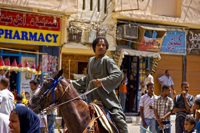 A Horseman At Sheik Abu al-Haggag's Festival, Egypt
